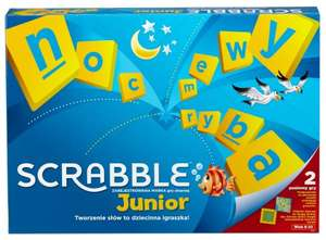 Gra Mattel Scrabble Junior