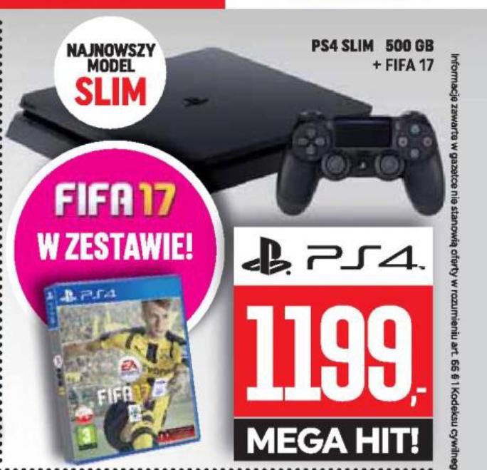 Playstation 4 Slim 500 GB plus fifa 17 @ NeoNet/Karen