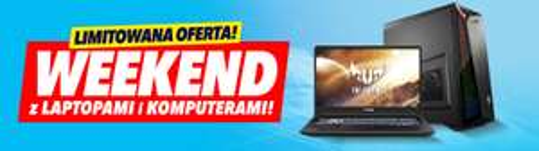 Weekend z laptopami i PC w Media Expert (np. Acer Nitro 5, 16/512 GB, GTX 1650 za 3 799 zł)