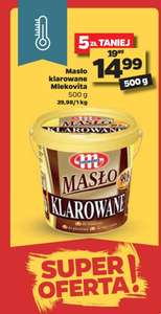 Masło klarowane Mlekovita 500g w Netto