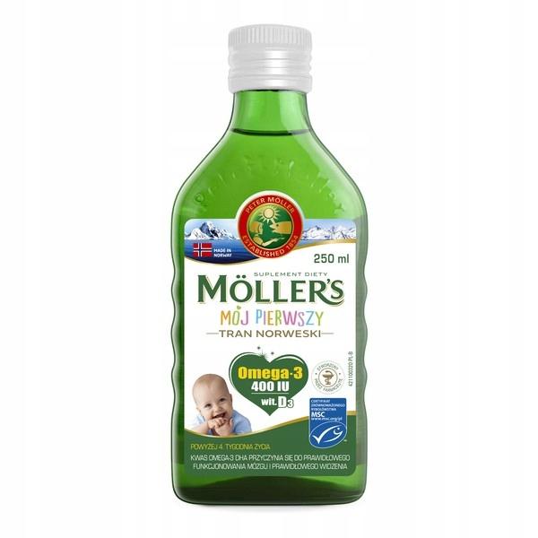 Mollers Mój Pierwszy tran norweski 10.19zl data 31.01.2021