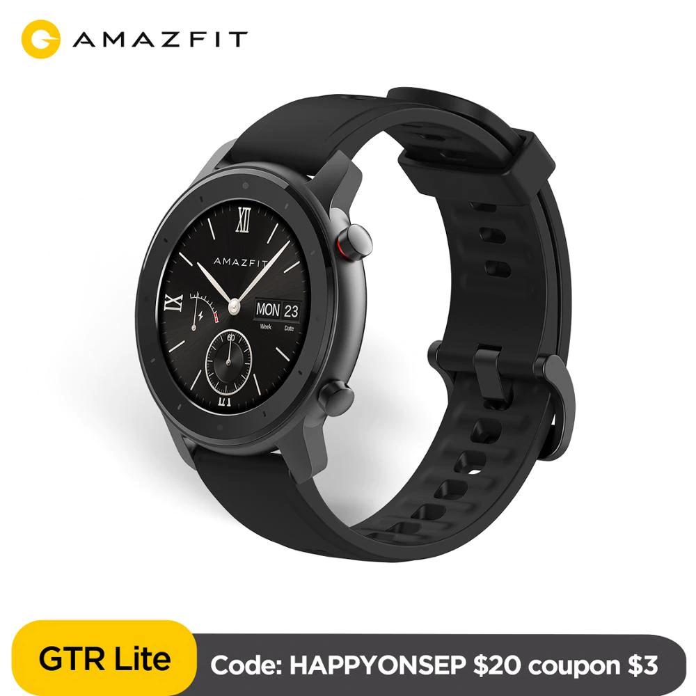 Amazfit GTR 47 Lite Smartwatch najtaniej w historii - 60 $ wysyłka z Hiszpanii