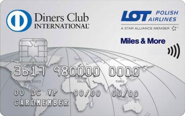 Diners Club - karta klasyczna i LOT bez opłaty w pierwszym roku.