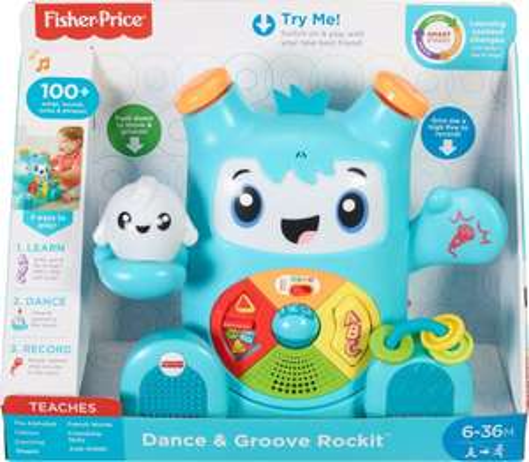 Interaktywna zabawka Fisher Price Rockit