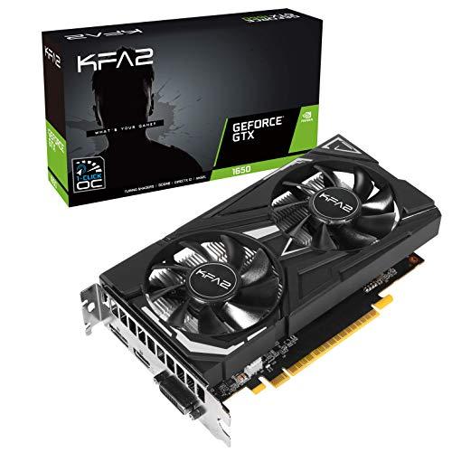 KFA2 NVidia GeForce GTX 1650 EX PLUS 4 GB 128-bit GDDR6 115,90€