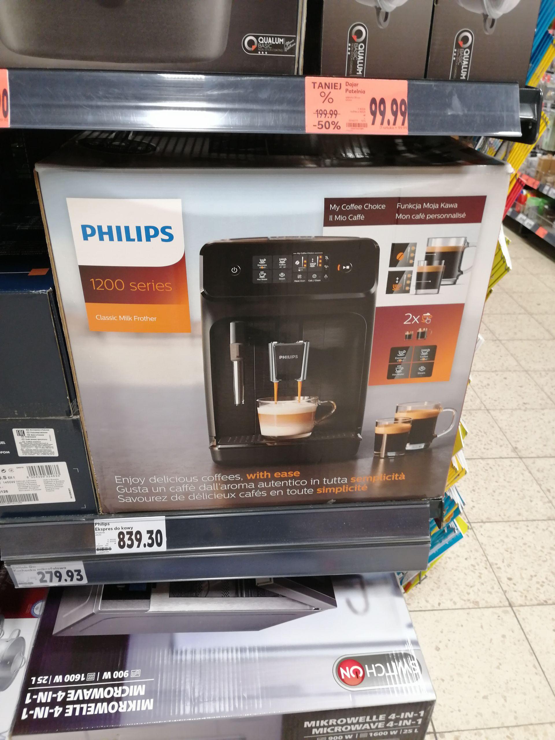 Ekspres ciśnieniowy Philips 1220/00