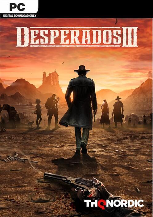(Steam) Desperados III PC - CDKeys