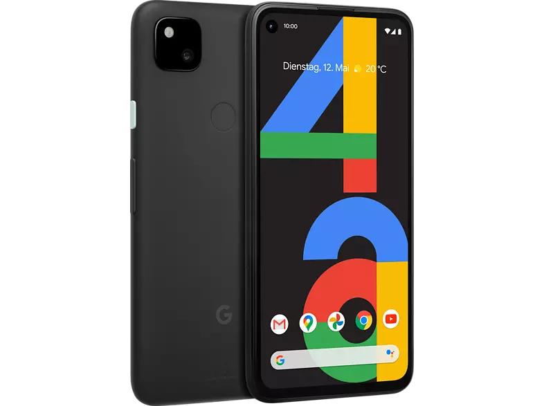 Smartfon Google Pixel 4a 128 GB Just Black Dual SIM