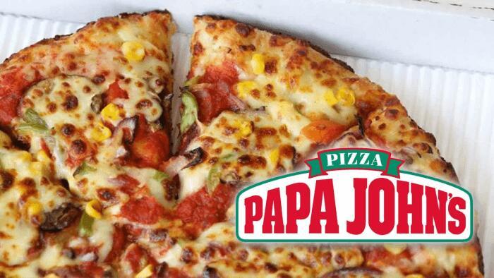 -34% na całe zamówienie Papa John's