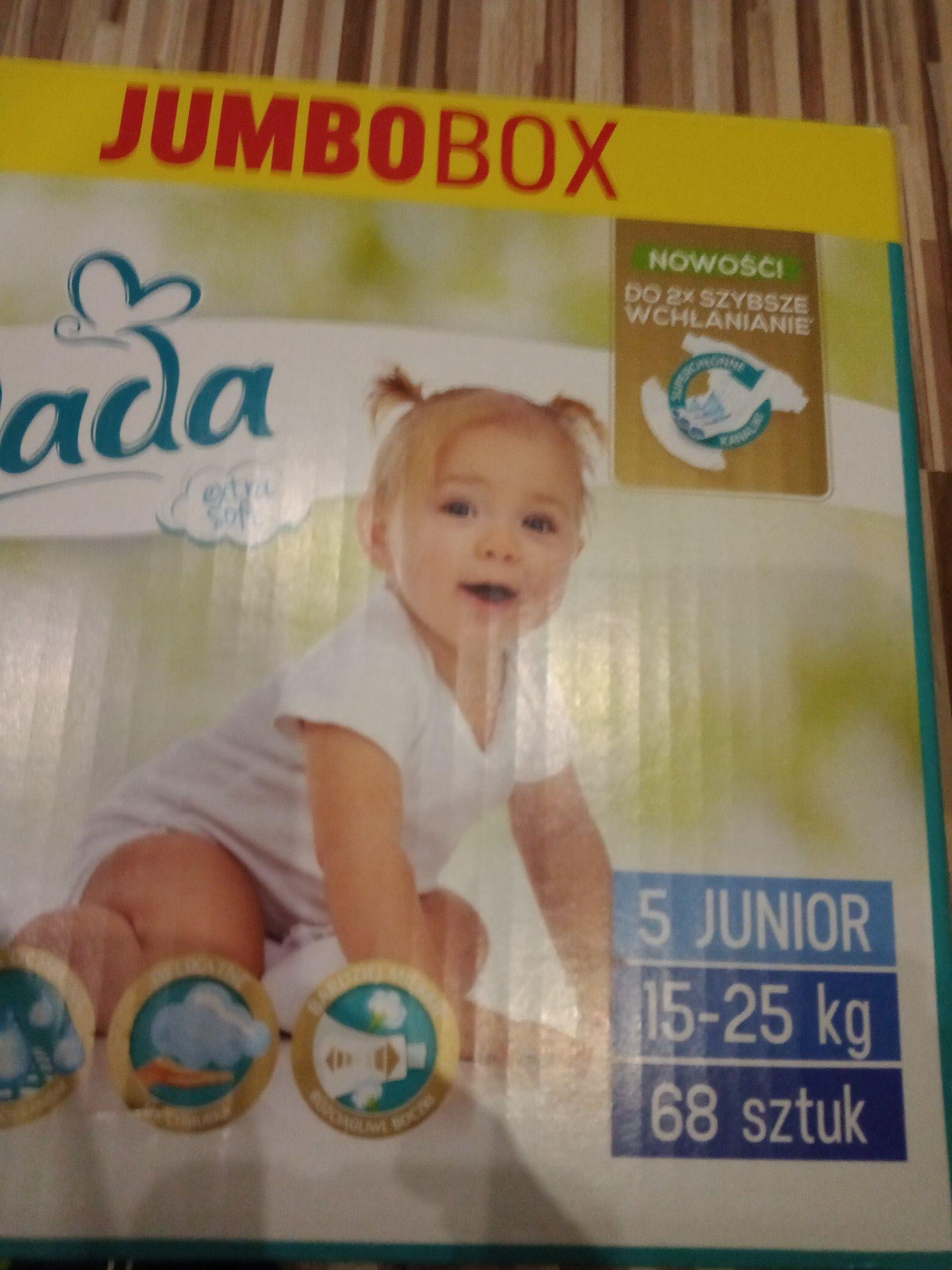 Pieluchy Dada extra soft Jumbo box