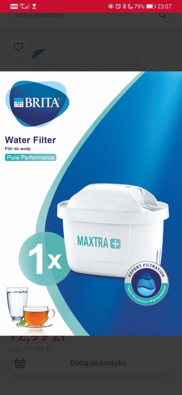 Brita Pure Performance filtr do wody maxtra+