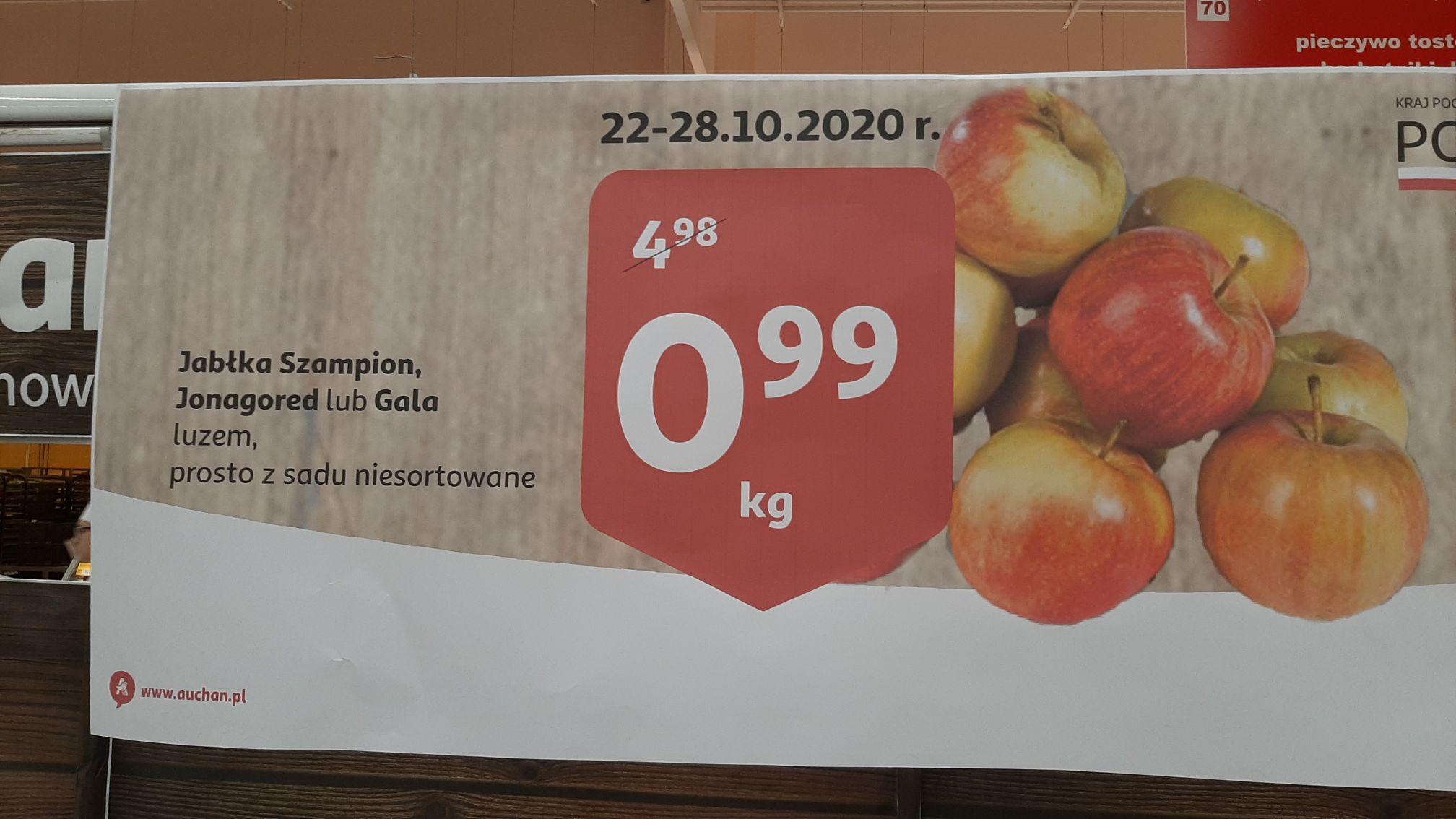 Jabłka, luz - Auchan Bronowice