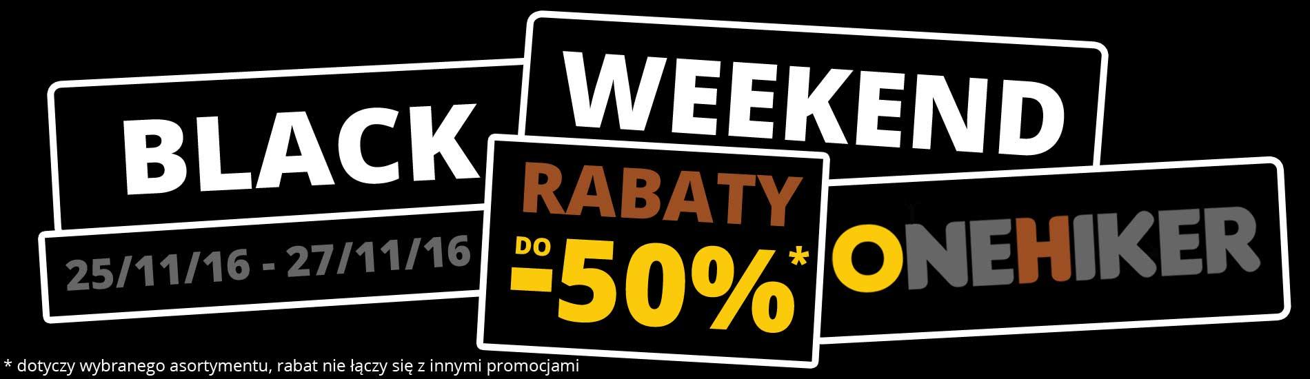 Black Friday w Onehiker.pl do -50%