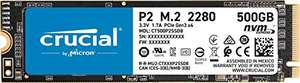 Dysk SSD NVMe Crucial P2 CT500P2SSD8 500GB