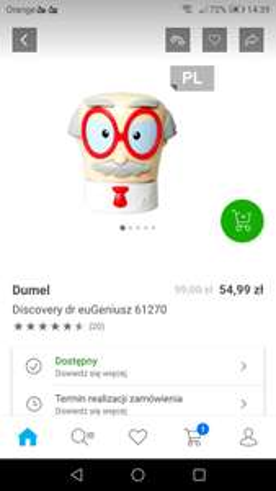 Dumel Discovery dr euGeniusz 61270