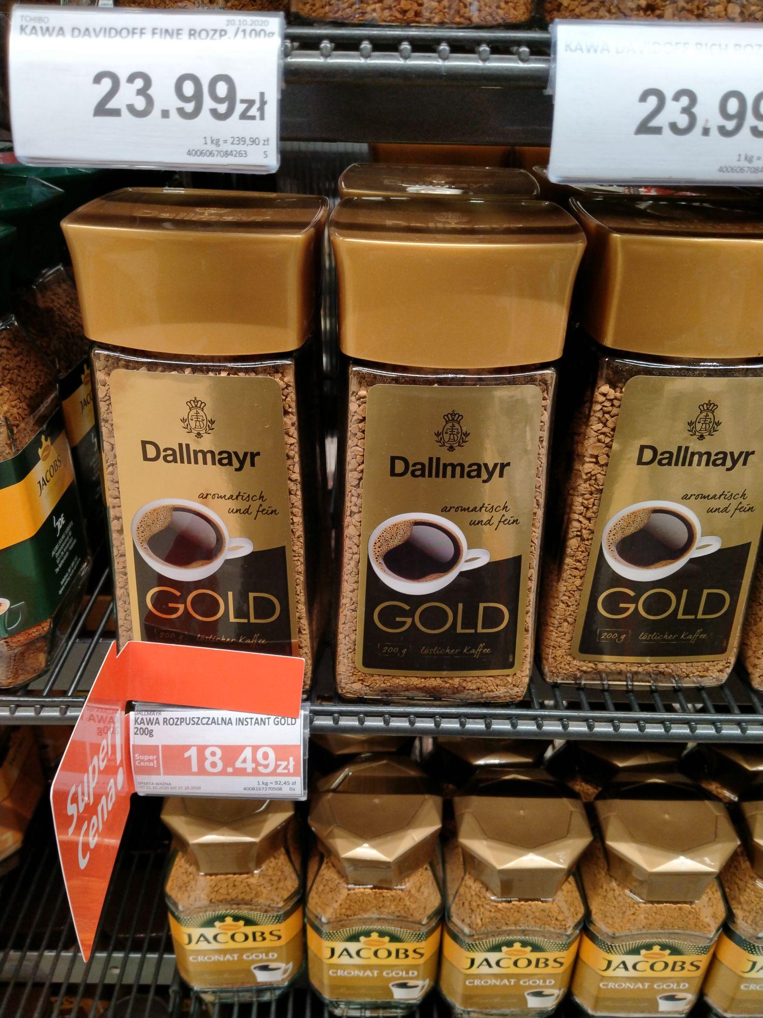 Dallmayr, kawa rozpuszczalna 200g. Piotr i Paweł