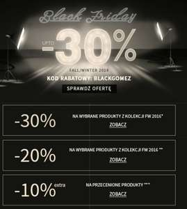 BLACK FRIDAY w Gomez.pl