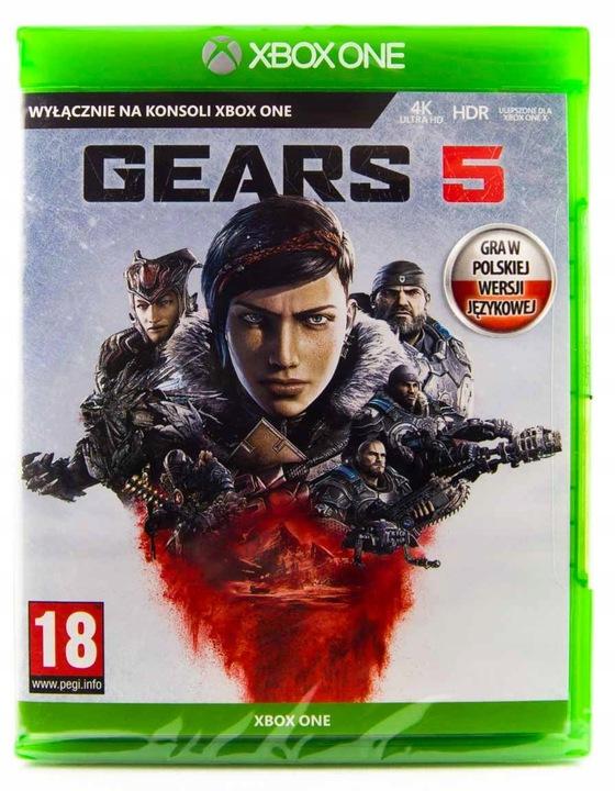 Gears of War 5 V PL Xbox One S X Strzelanka GOW