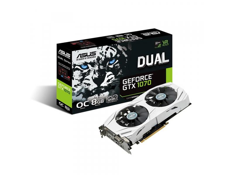 Gorący Sztrzał X-Kom ASUS GeForce GTX 1070 8GB 256bit Dual OC