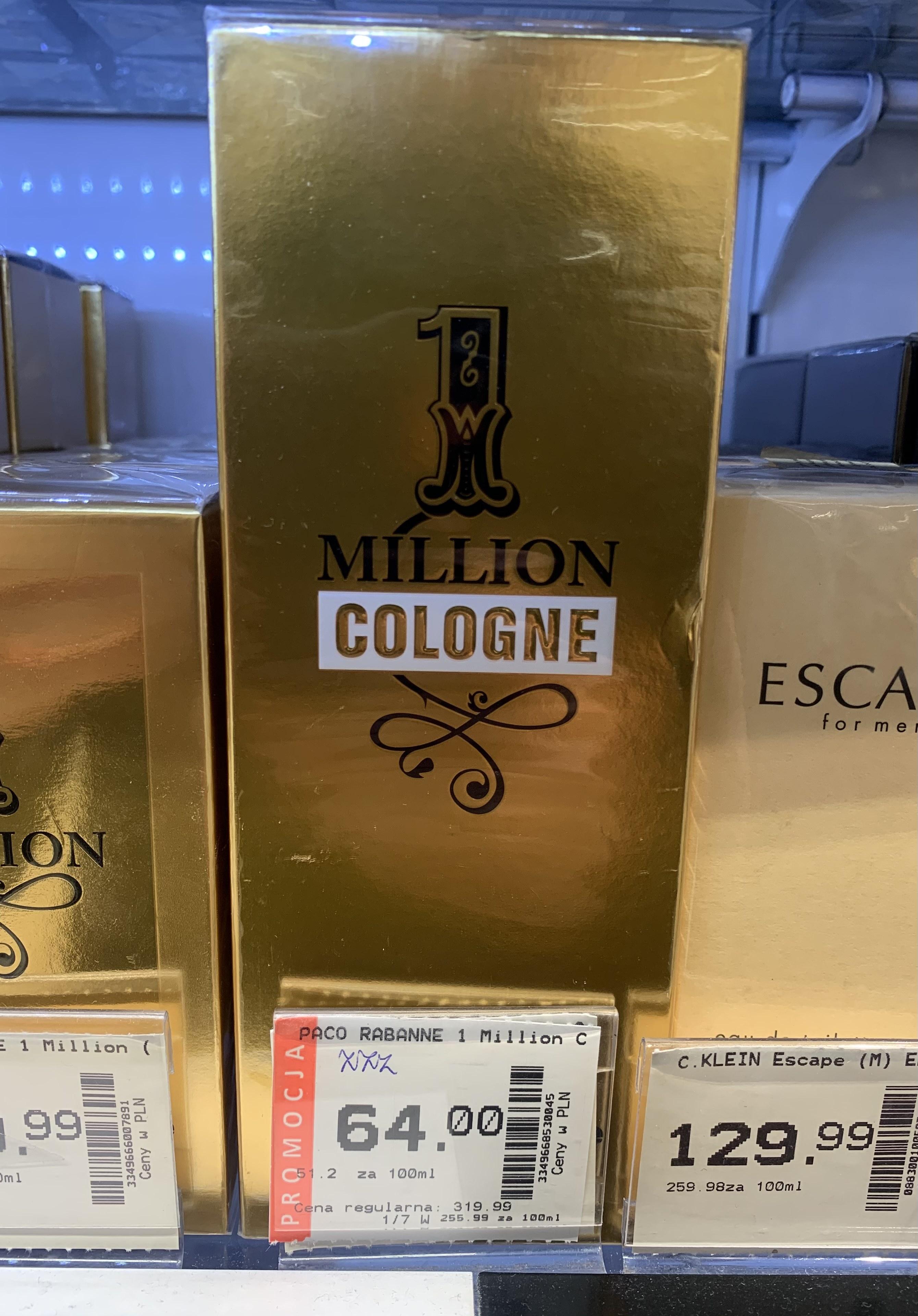 Paco Rabanne 1 Million Cologne 125ml Super-Pharm Dworzec PKP Krakow