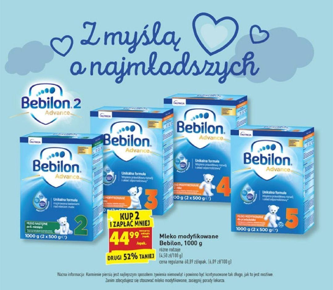 Biedronka - Mleko modyfikowane - Bebilon Advance 2,3,4,5 - 1kg