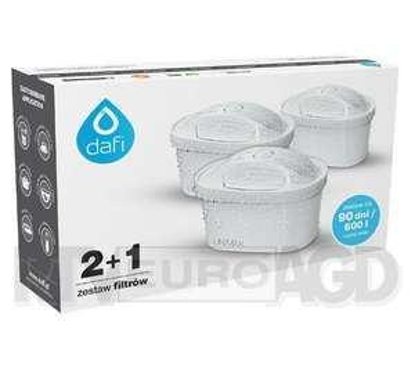 Wkłady filtrujące Dafi Unimax 2+1 Tylko dziś w Euro
