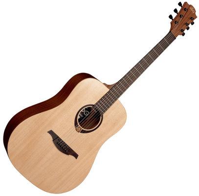 Gitara LAG T70D w zestawie