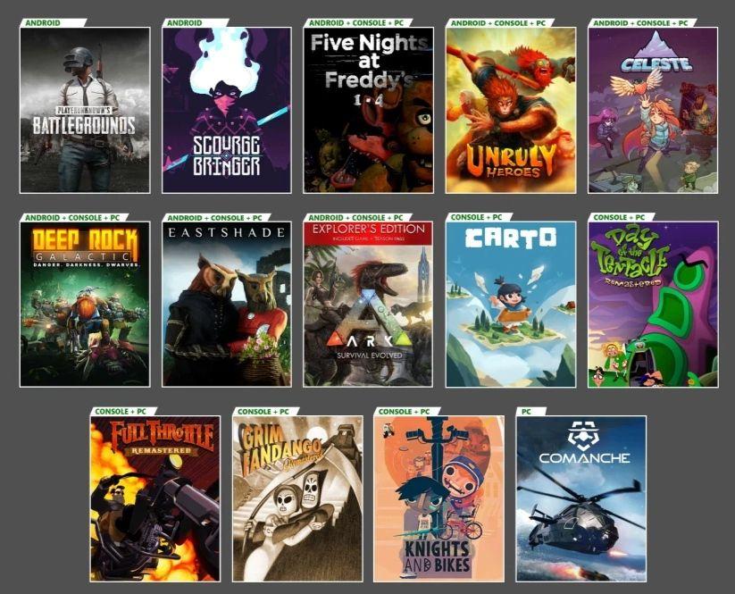 Xbox Game Pass - nowe tytuły
