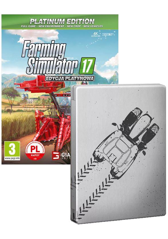 Farming Simulator 17 Edycja Platynowa Steel Book