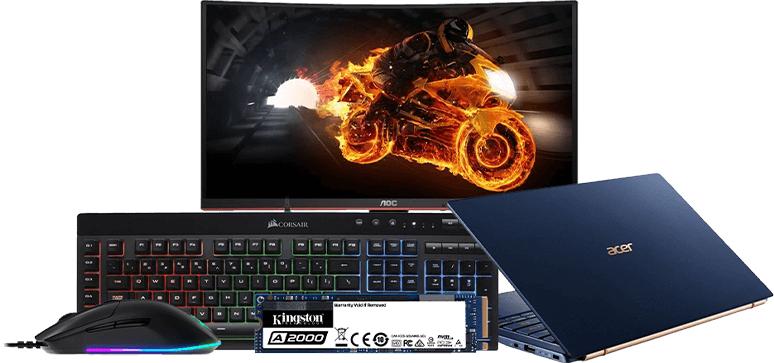 Halloween w Morele.net (taniej: monitory, akcesoria PC, fotele gamingowe i inne)
