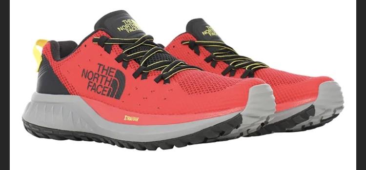 """The North Face Buty """"Ultra Endurance"""" w kolorze czerwonym do biegania"""