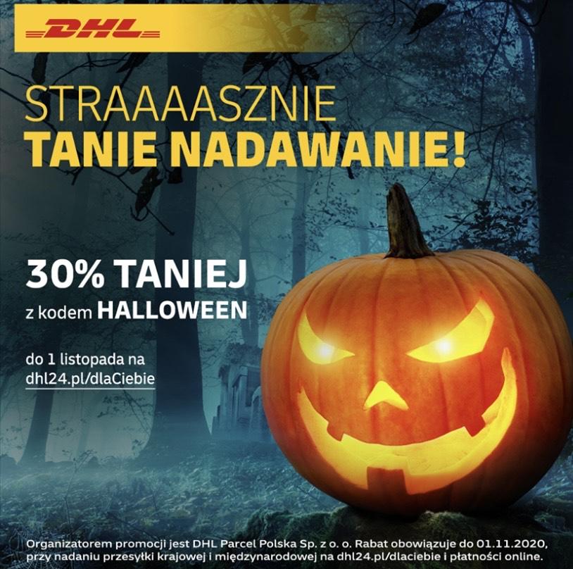 -30% za nadanie paczki DHL