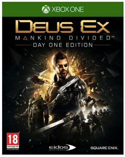 Deus Ex: Mankind Divided Day One -PL- XONE – NOWA!