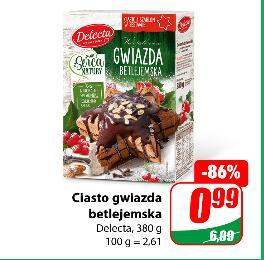 Ciasto gwiazda betlejemska 380g Delecta @Dino