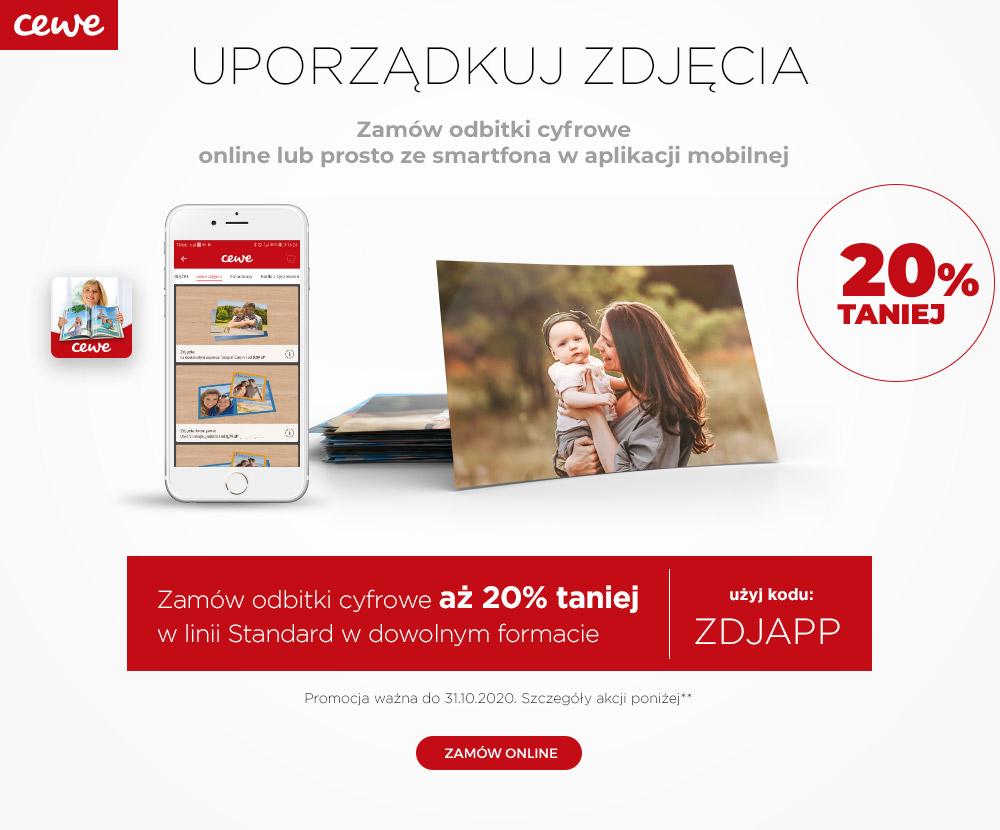 Odbitki cyfrowe, Wywołanie zdjęć 20% taniej na Fotousługi.pl