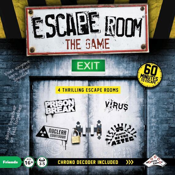 Trefl Escape Room Gra Planszowa
