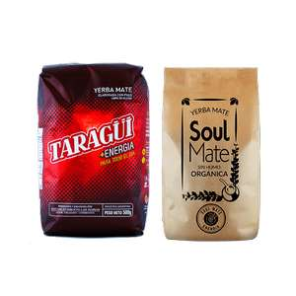 Yerba Mate Taragui Energia i Soul Mate Energia 1kg