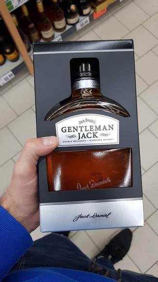 Jack Daniels Gentleman Jack Pomylili ceny