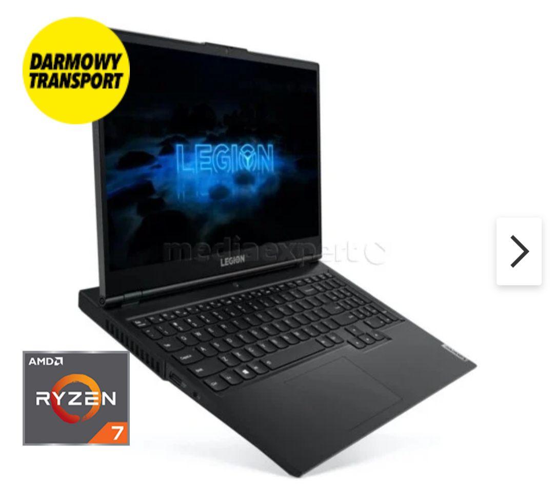 Laptop LENOVO Legion 5 15ARH05H Ryzen 7 4800H 16 512GB SSD GF-GTX 1660Ti W10