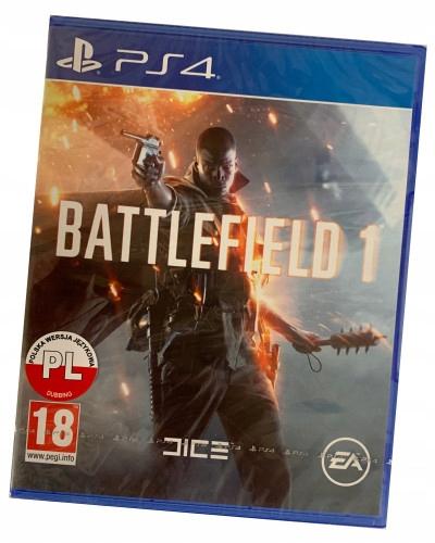 Battlefield 1 (PS4) PO POLSKU / nowa w folii
