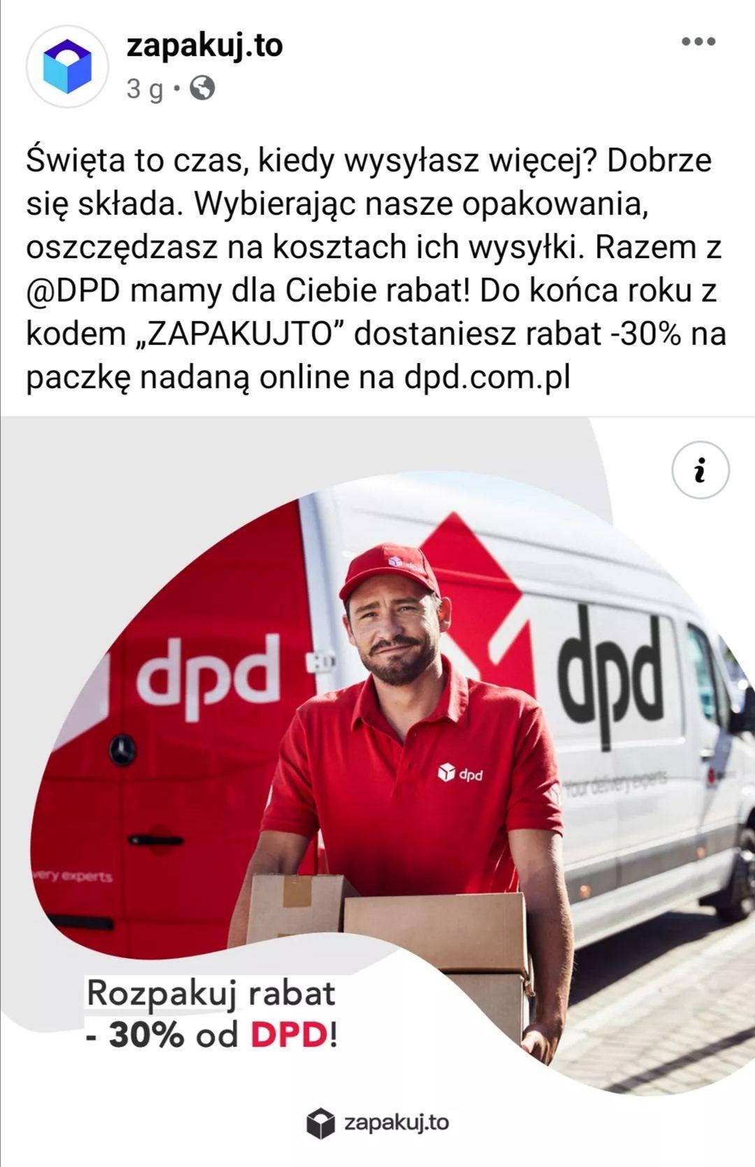 Dpd - 30%