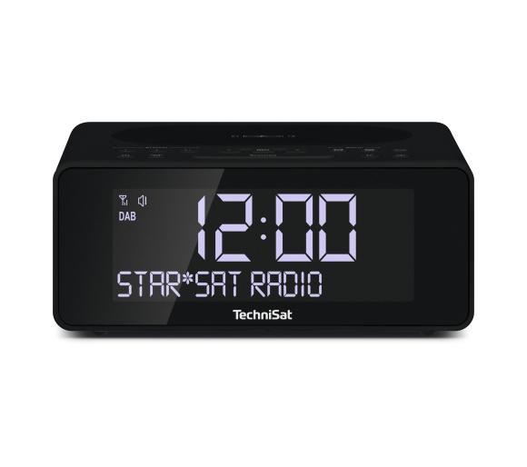 Radiobudzik TechniSat DigitRadio 52 DAB+ (antracyt) z ładowarką smartfonów