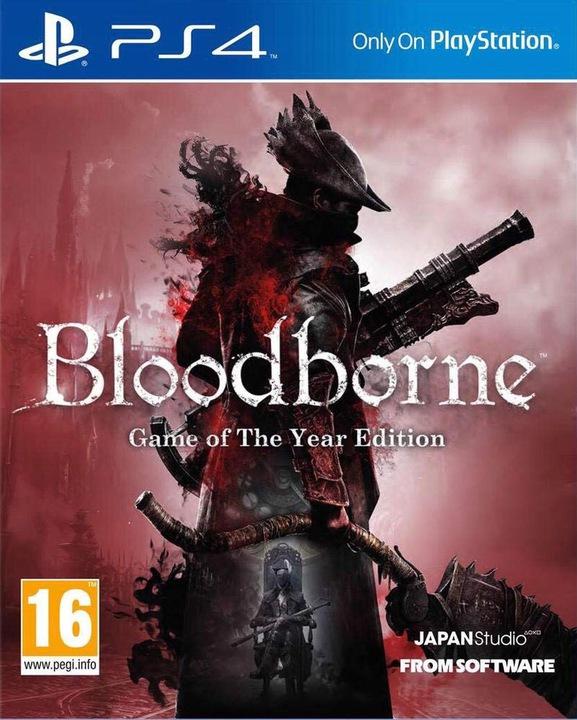 BLOODBORNE GOTY / PS4 / NOWA / PL