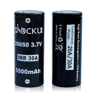 Akumulatorki Shockli IMR 26650 3.7V 5500mah 30A