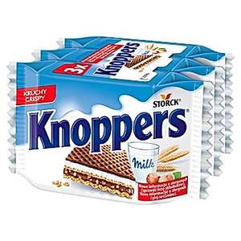 Knoppers Wafelek 75 g (3 x 25 g) Carrefour