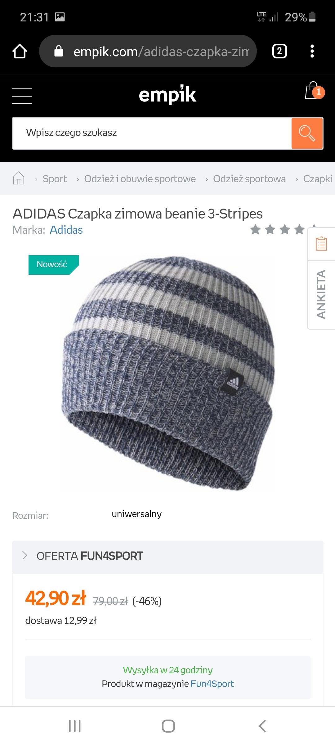 Adidas na empik.com