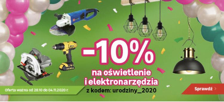-10% na elektronarzędzia i oświetlenie @Leroy Merlin