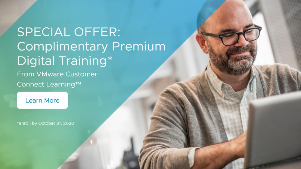 12 miesięcy dostępu do VMware Learning Premium
