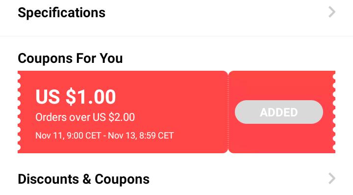 AliExpress zaczyna rozdawać kupon y czerwone