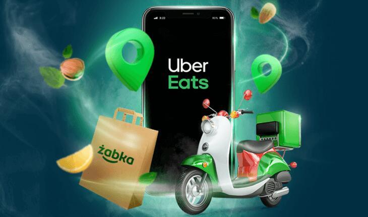Żabka - Dwie dyszki zniżki w Uber Eats! 28.10.2020 - 10.11.2020